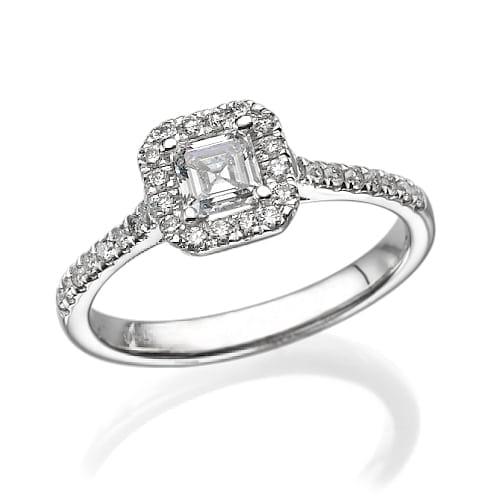 טבעת יהלומים דגם Marta