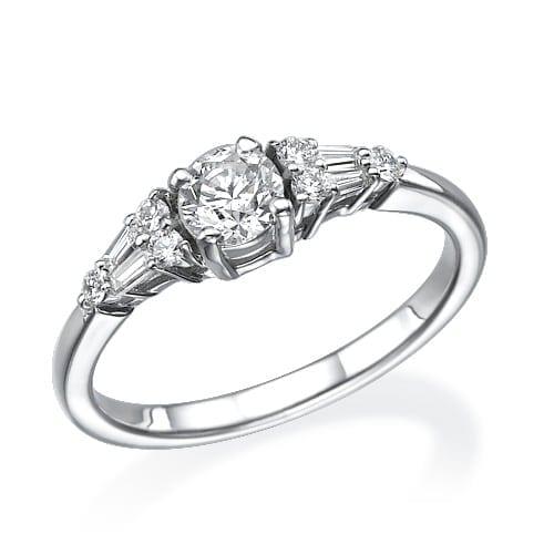 טבעת אירוסין דגם Helen