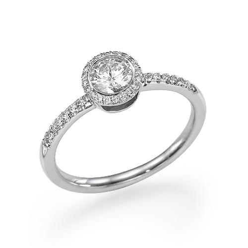 טבעת אירוסין דגם Eden