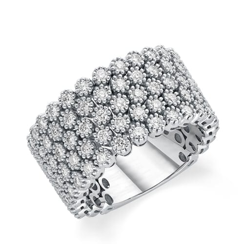 טבעת יהלומים דגם Cara