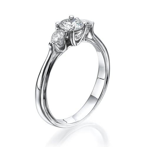 טבעת אירוסין דגם Heather