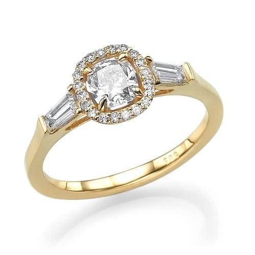 טבעת אירוסין דגם Macy
