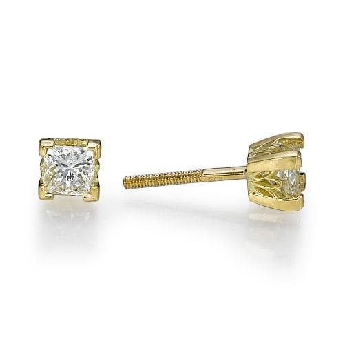 עגילי יהלומים דגם Kaylee