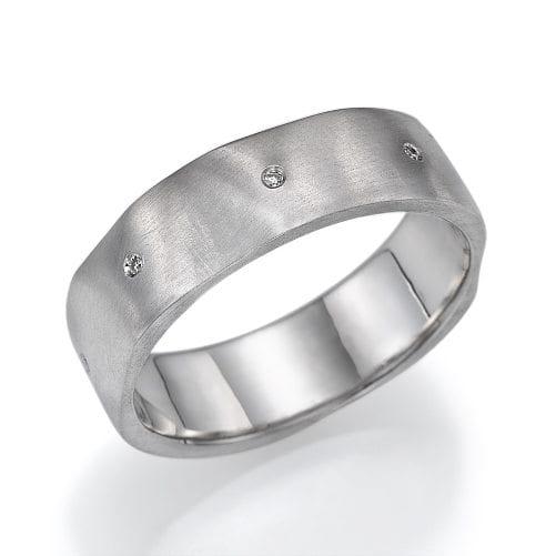 טבעת נישואין דגם Roza