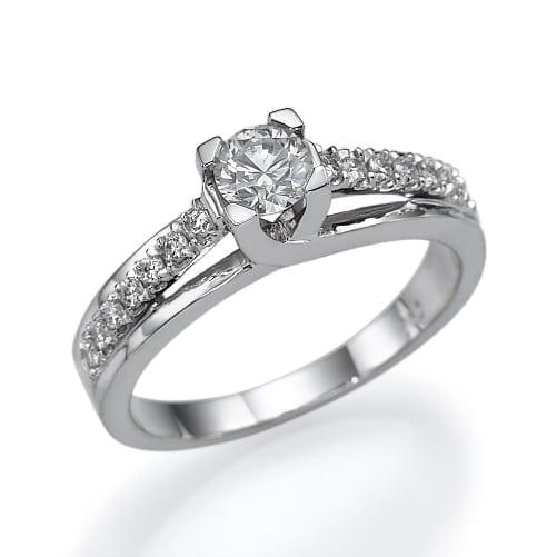 טבעת אירוסין  דגם Jade