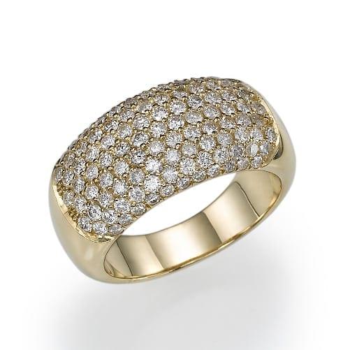 טבעת יהלומים דגם Royal