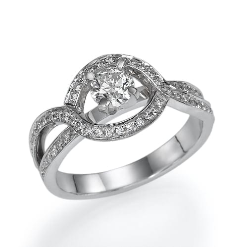 טבעת אירוסין דגם Angelina