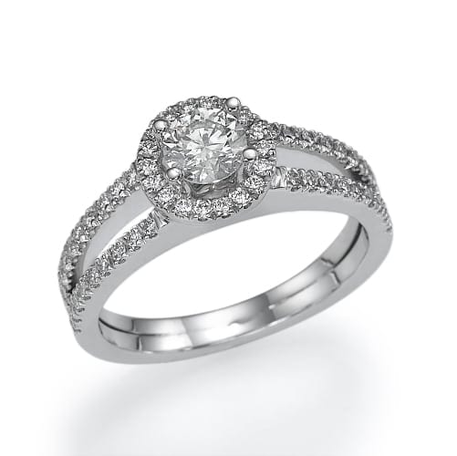 טבעת אירוסין דגם Charlize