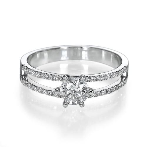 טבעת אירוסין דגם Edna