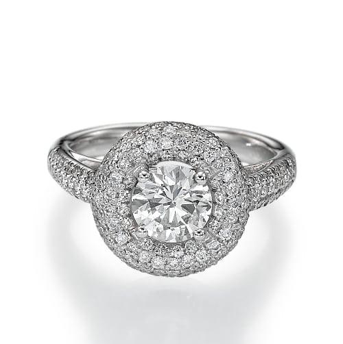 טבעת יהלומים דגם Aya