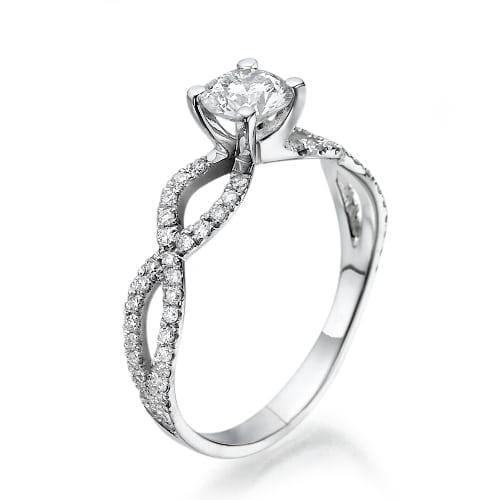 טבעת אירוסין דגם Iris
