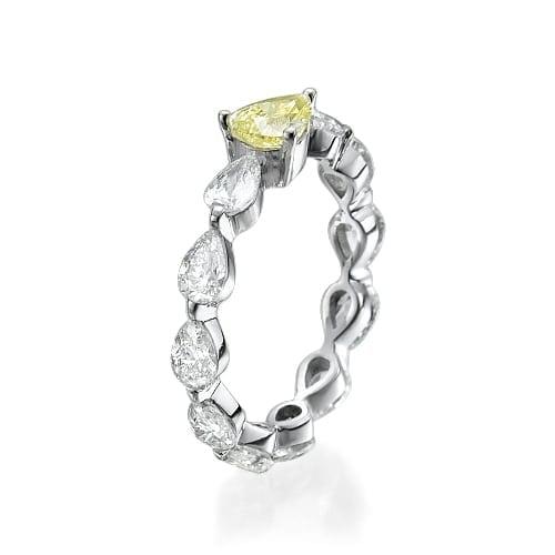 טבעת יהלומים דגם Nadia