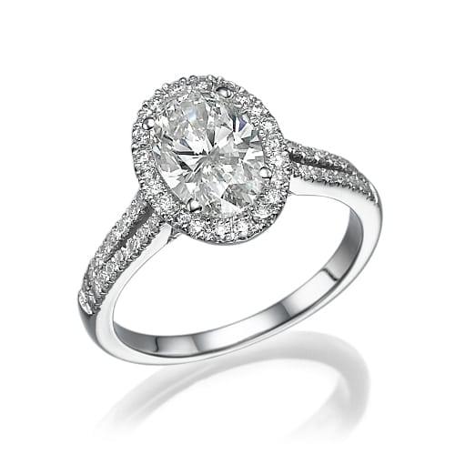 טבעת יהלומים דגם Morine