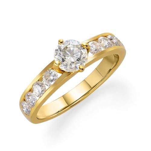 טבעת יהלומים דגם  Lesley