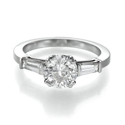 טבעת יהלומים דגם Linda