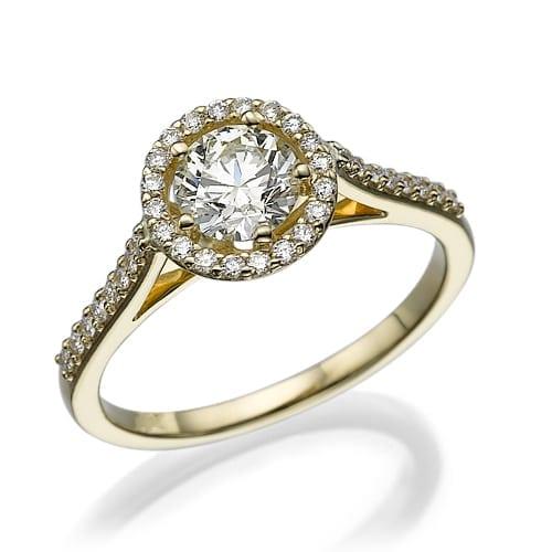 טבעת יהלומים דגם Macy