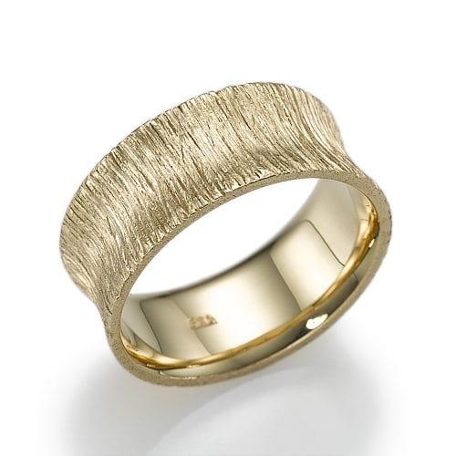 טבעת נישואין דגם Rakefet