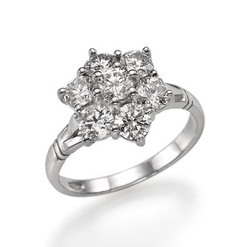 טבעת דגם Diana