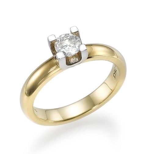 טבעת אירוסין  דגם Nicole
