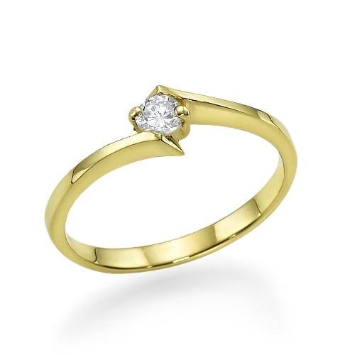 טבעת אירוסין דגם Paloma