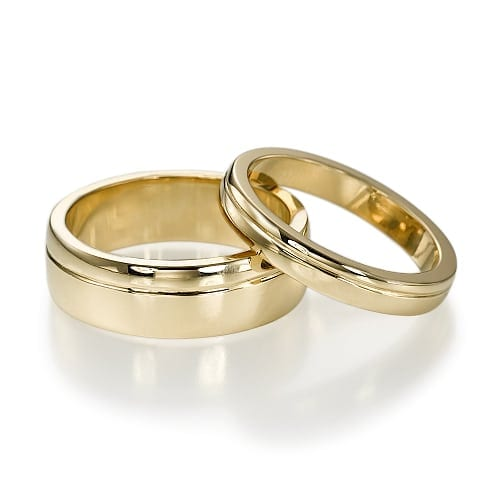טבעות נישואין דגם Kalanit