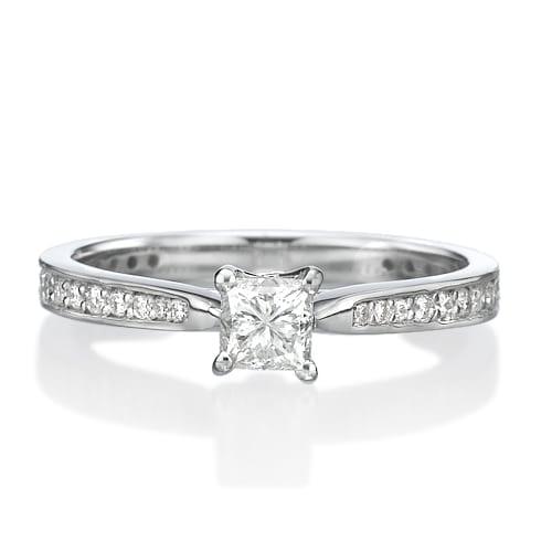 טבעת אירוסין דגם Karine