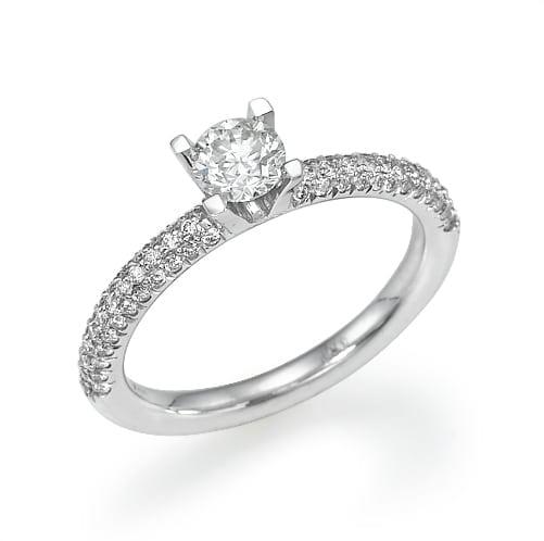 טבעת אירוסין  דגם Dina