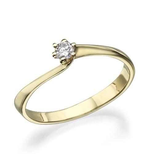 טבעת אירוסין דגם Maegan