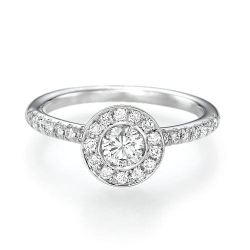 טבעת יהלומים דגם Mika