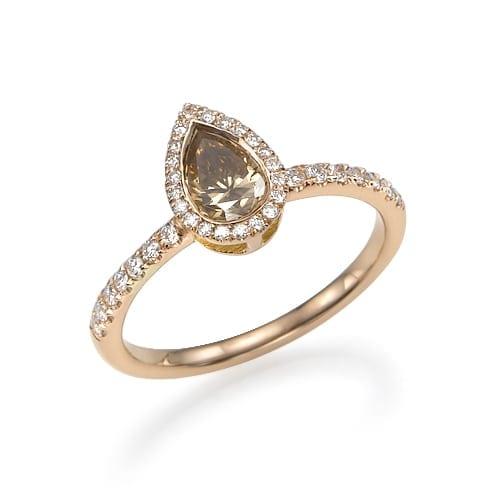 טבעת אירוסין דגם Jain