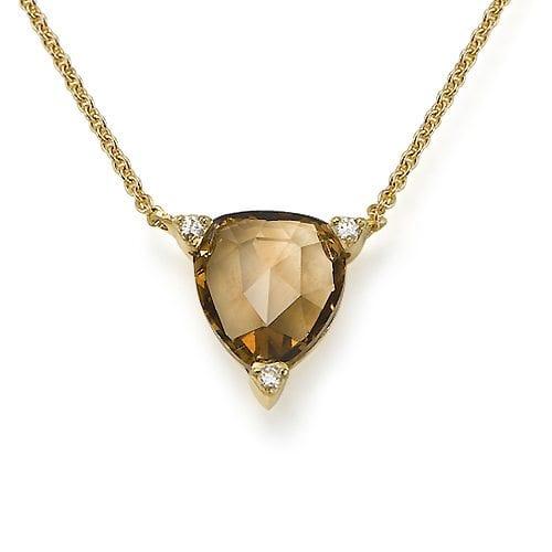 תליון יהלומים דגם Triangle