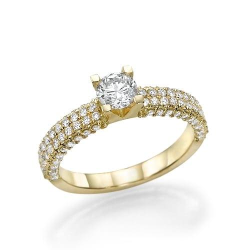 טבעת אירוסין דגם Deborah