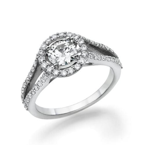 טבעת יהלומים דגם Jennifer