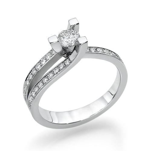 טבעת אירוסין דגם Bar ב-30% הנחה!!!