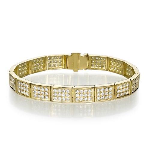 צמיד יהלומים דגם Eros