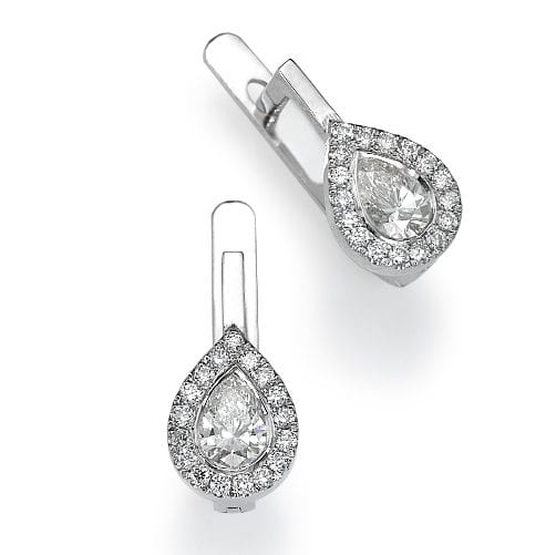 עגילי יהלומים דגם Aniya