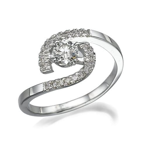טבעת אירוסין דגם Delphine