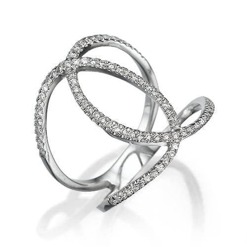 טבעת יהלומים דגם Haile