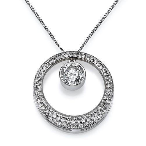 תליון  יהלומים דגם Nili