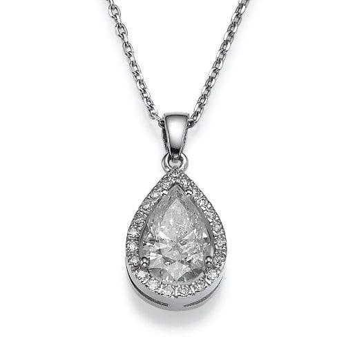תליון יהלומים דגם Katerina