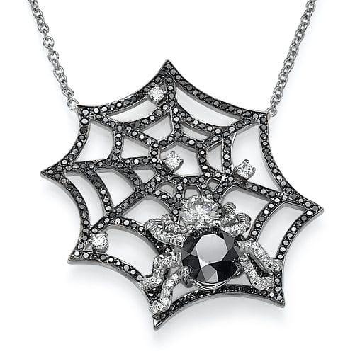 תליון יהלומים דגם Spider