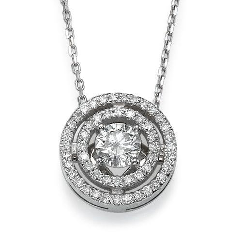 תליון יהלומים דגם Orea