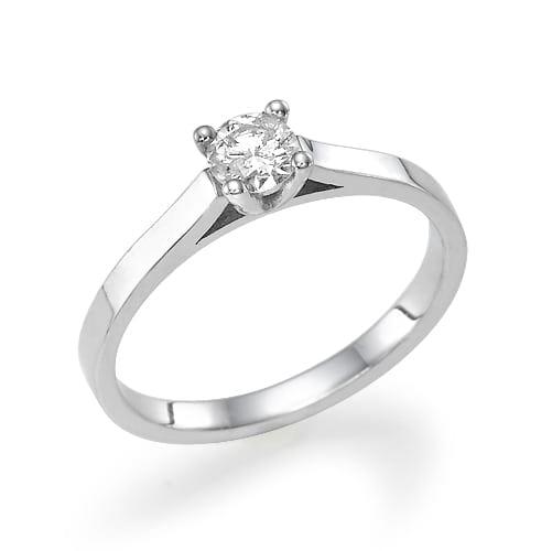 טבעת אירוסין  דגם Faye
