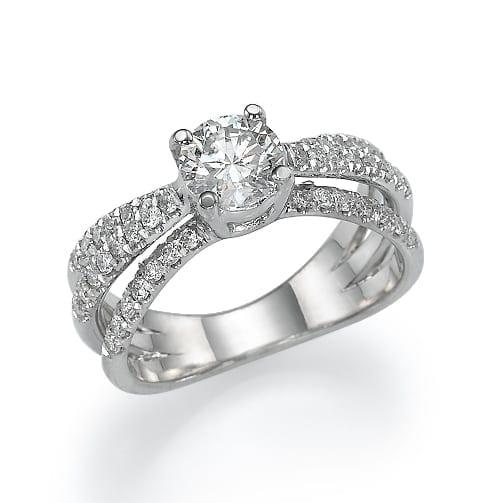טבעת יהלומים דגם Odele