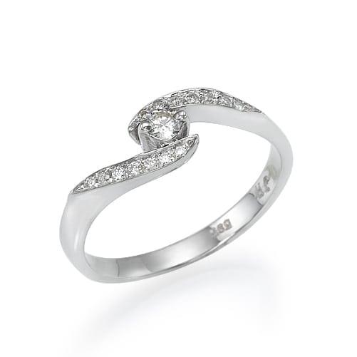 טבעת אירוסין דגם Aida