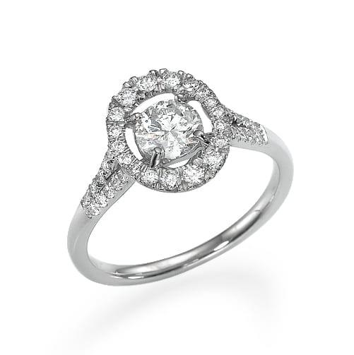 טבעת יהלומים דגם Chen