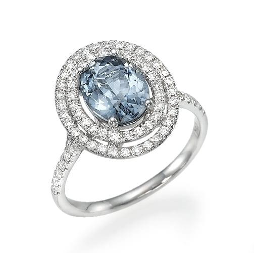 טבעת יהלומים דגם Gia