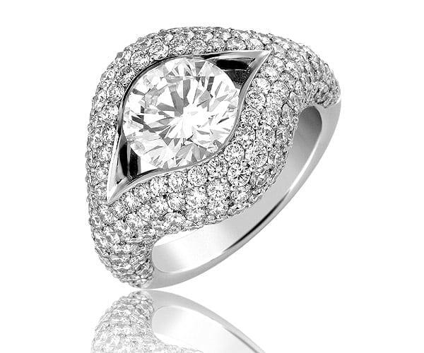 טבעת יהלומים דגם Lindsay ב-50% הנחה!!!