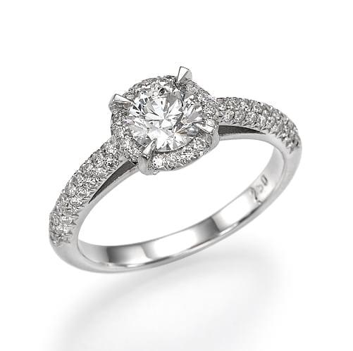 טבעת יהלומים דגם Oriane