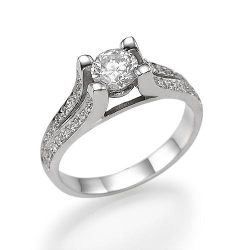 טבעת יהלומים דגם Inbal